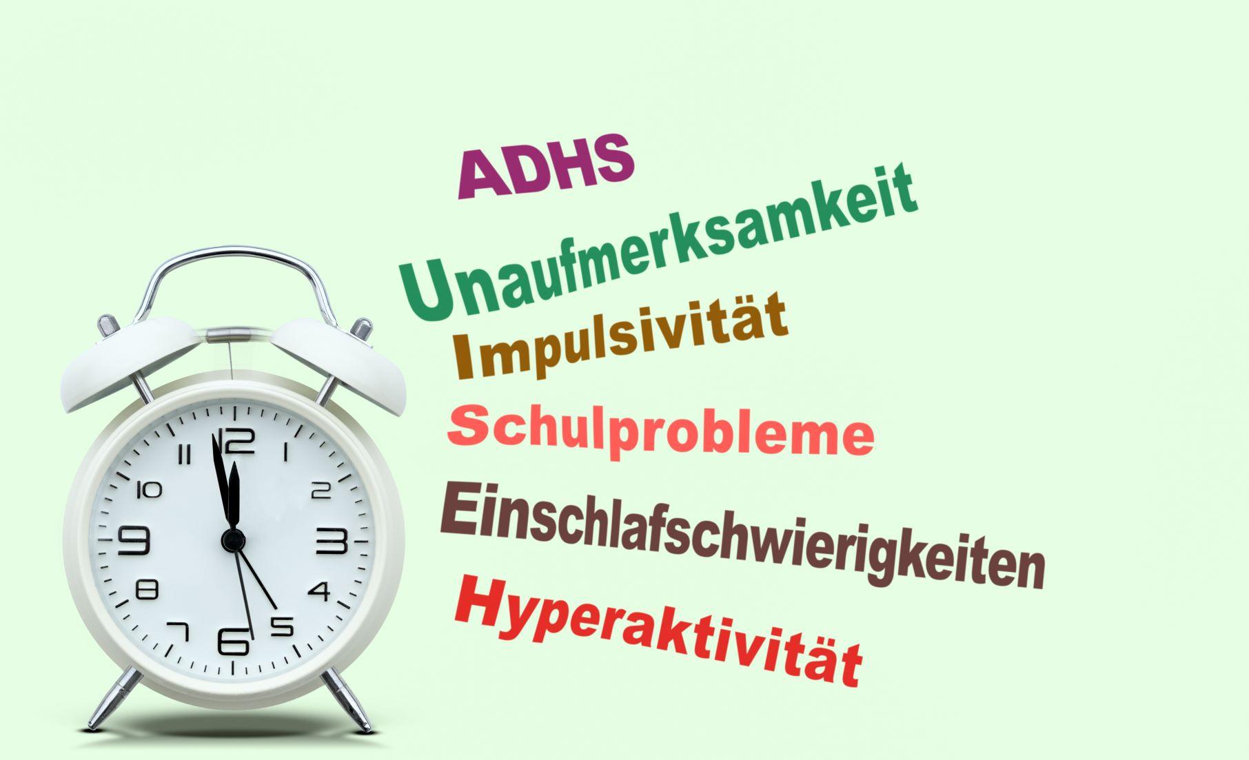 Wecker mit ADHS Symptomen